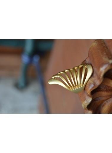 Stoneage Melek Kanat Ayarlı Yüzük Altın Kaplama Altın